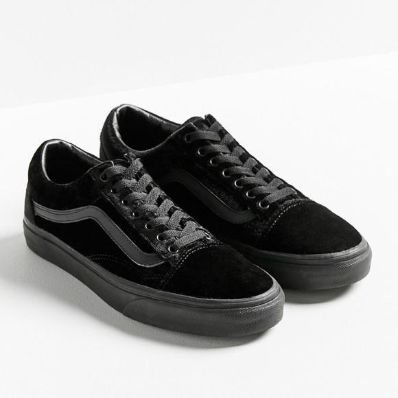 Vans Shoes | Velvet Old Skool | Poshmark